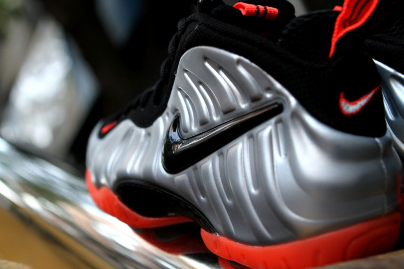 Nike Air Foamposite Pro 'Bright Crimson' at Kith NYC