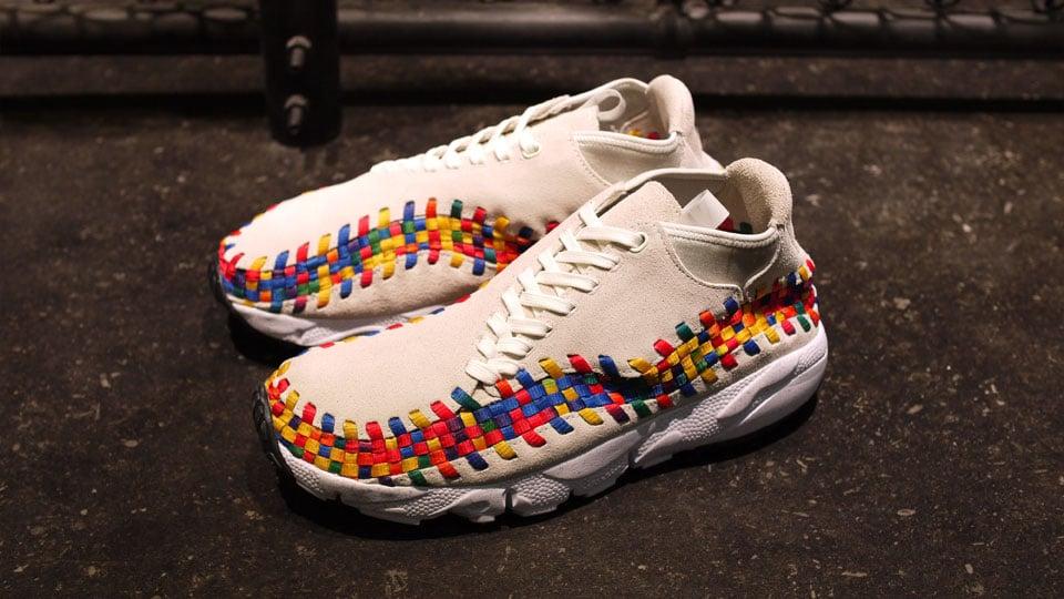detailed look 5a9b0 28c60 ... Nike Air Footscape Motion Woven Chukka Rainbow Beige at mita ...