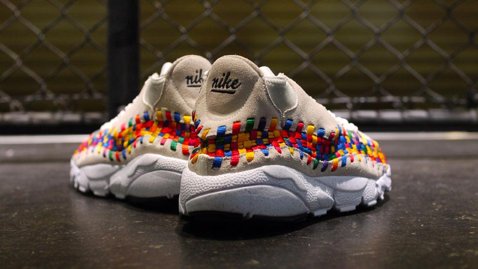 Nike Air Footscape Motion Woven Chukka Rainbow 'Beige' at mita