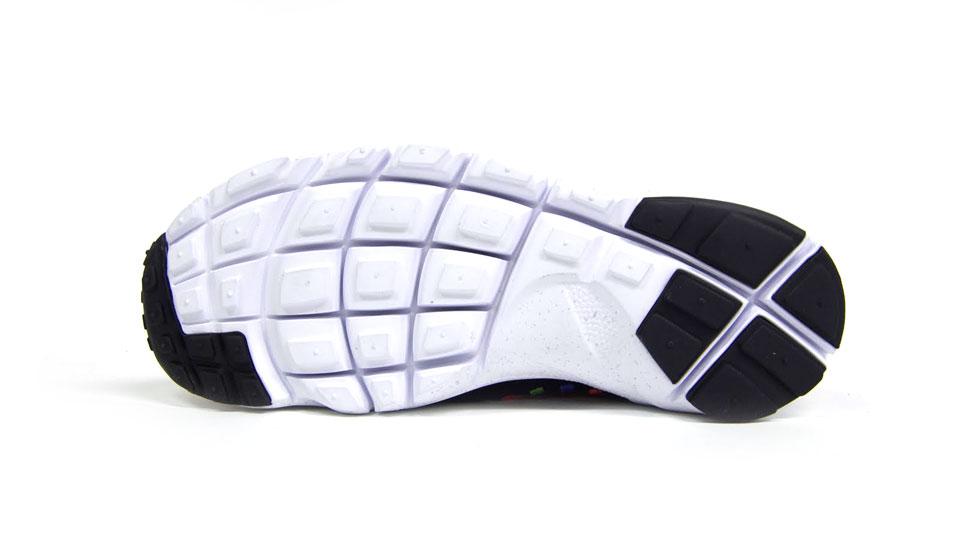 Nike Air Footscape Woven Chukka Premium QS Rainbow 'Black/Black-White' at mita