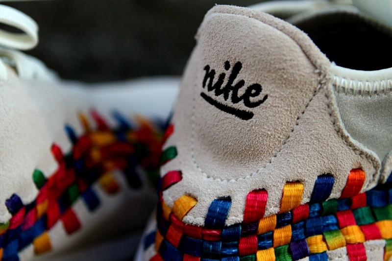 Nike Air Footscape Woven Chukka Premium QS Rainbow 'Sail/Sail-White' at Kith NYC