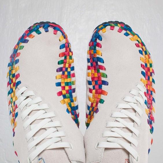 Nike Air Footscape Woven Chukka Premium QS Rainbow 'Sail/Sail-White' at SNS