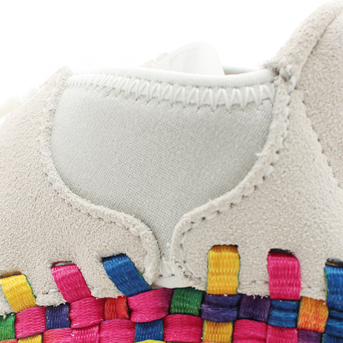 Nike Air Footscape Woven Chukka Premium QS Rainbow 'Sail/Sail-White' at atmos