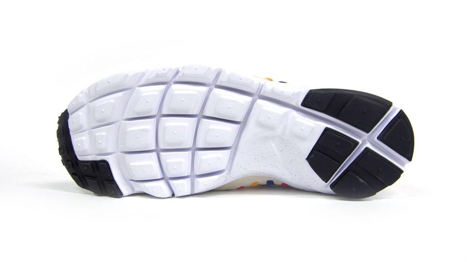 Nike Air Footscape Woven Chukka Premium QS Rainbow 'Sail/Sail-White' at mita