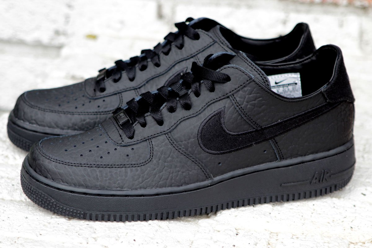 nike air force 1 low decon premium blackout at social. Black Bedroom Furniture Sets. Home Design Ideas
