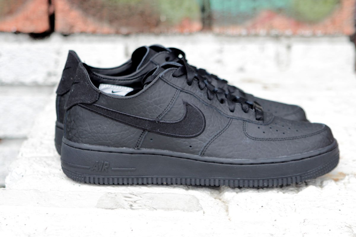 Nike Air Force 1 Low Decon Premium 'Blackout' at Social Status