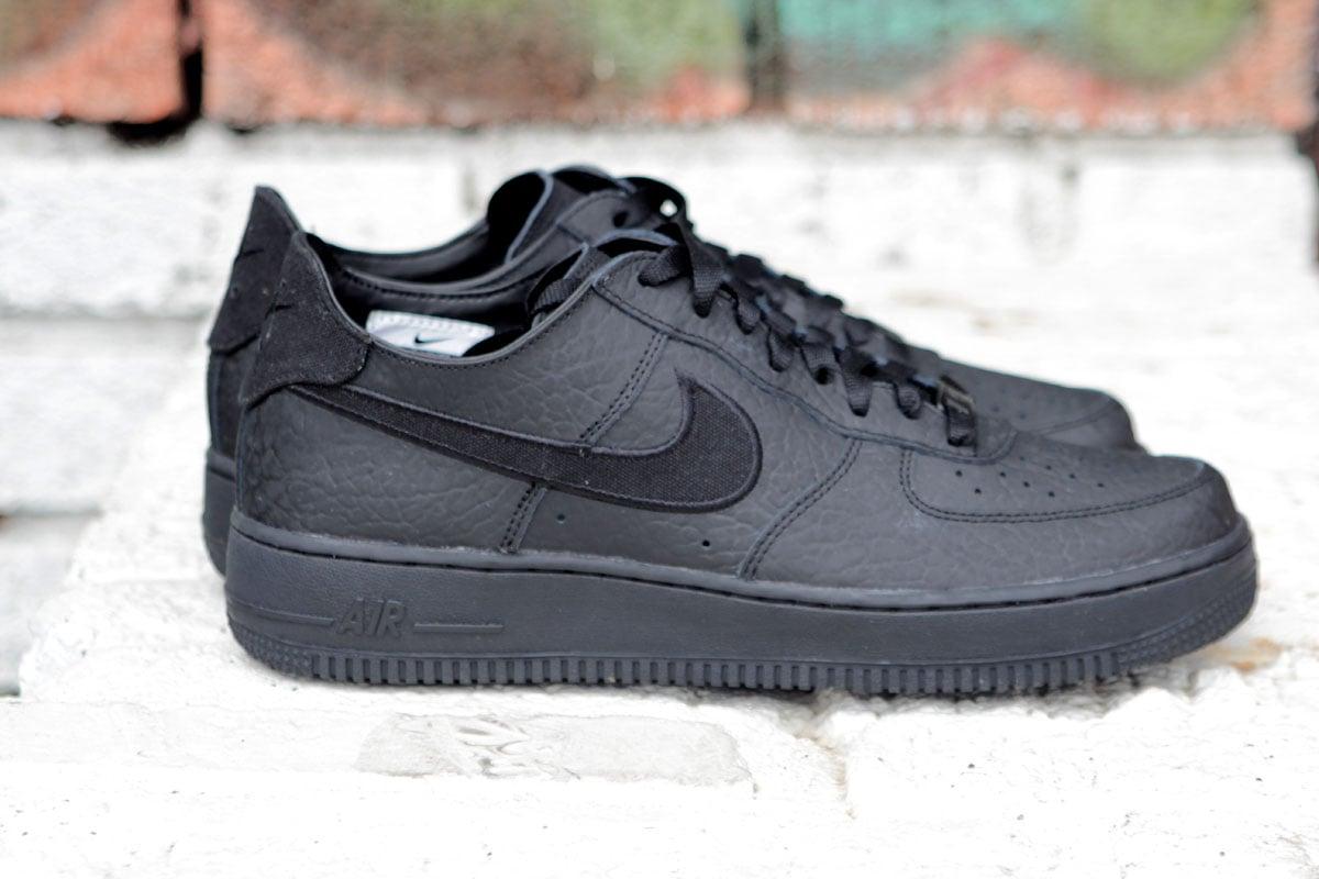 Nike Air Force 1 Low Decon Premium 'Blackout' at Social Status