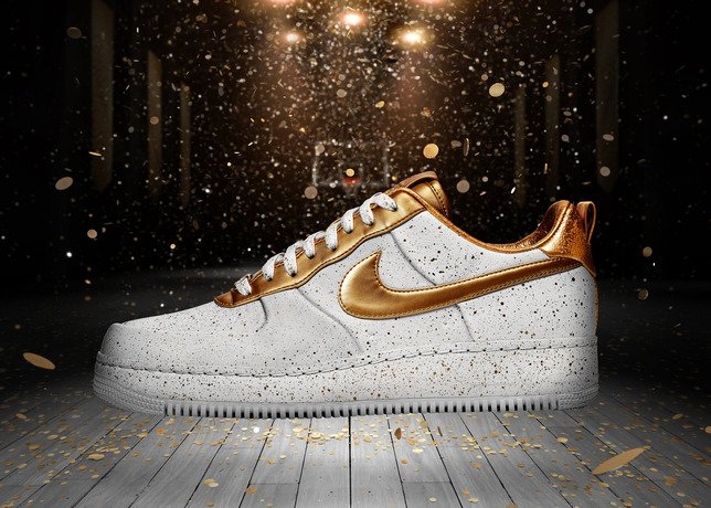 Nike Air Force 1 Low 'Gold Medal' - Officially Unveiled