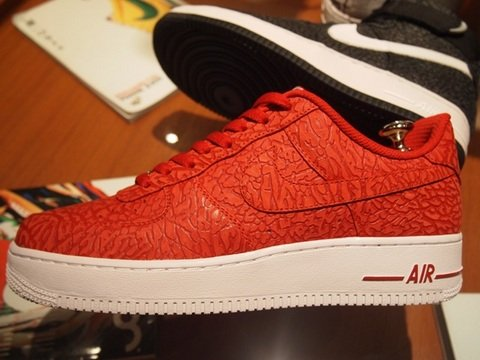 Nike Air Force 1 iD Elephant Print Leather Samples