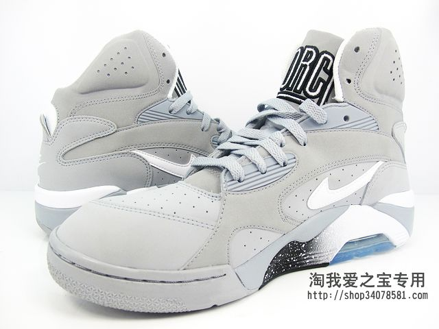 Nike Air Force 180 High 'Grey/Black-White'
