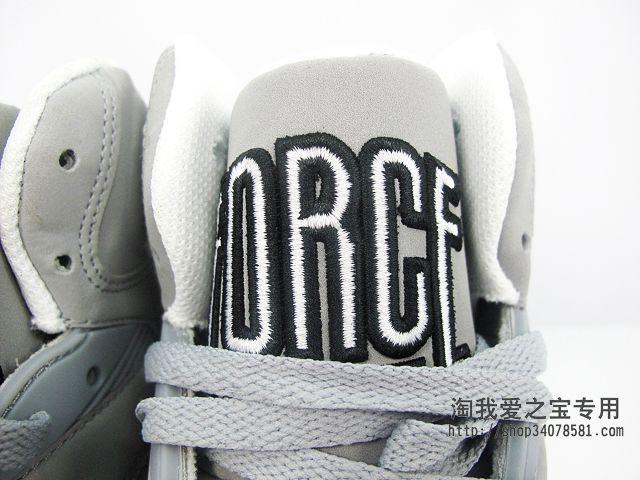 Nike Air Force 180 High 'Grey/Black-White'