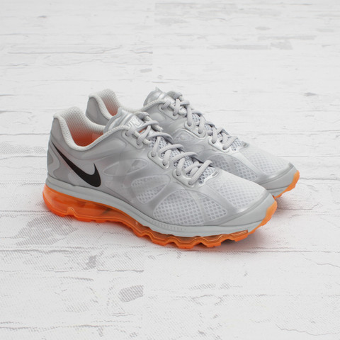 Nike Air Max+ 2012 'Metallic Silver/Total Orange'