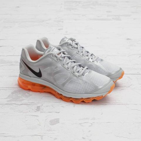 Nike Air Max+ 2012 'Metallic Silver/Total Orange'