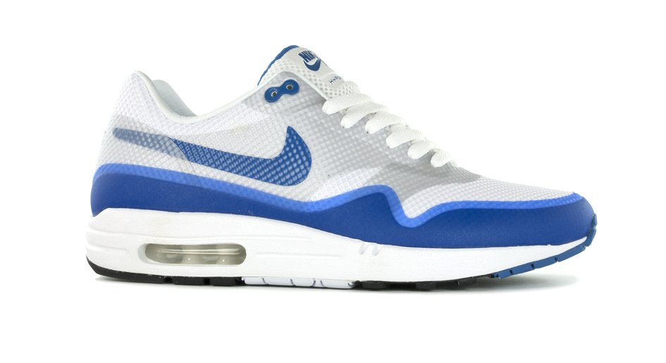 Nike Air Max 1 Hyperfuse Premium NRG 'White/Varsity Blue-Neutral Grey' at Bows & Arrows