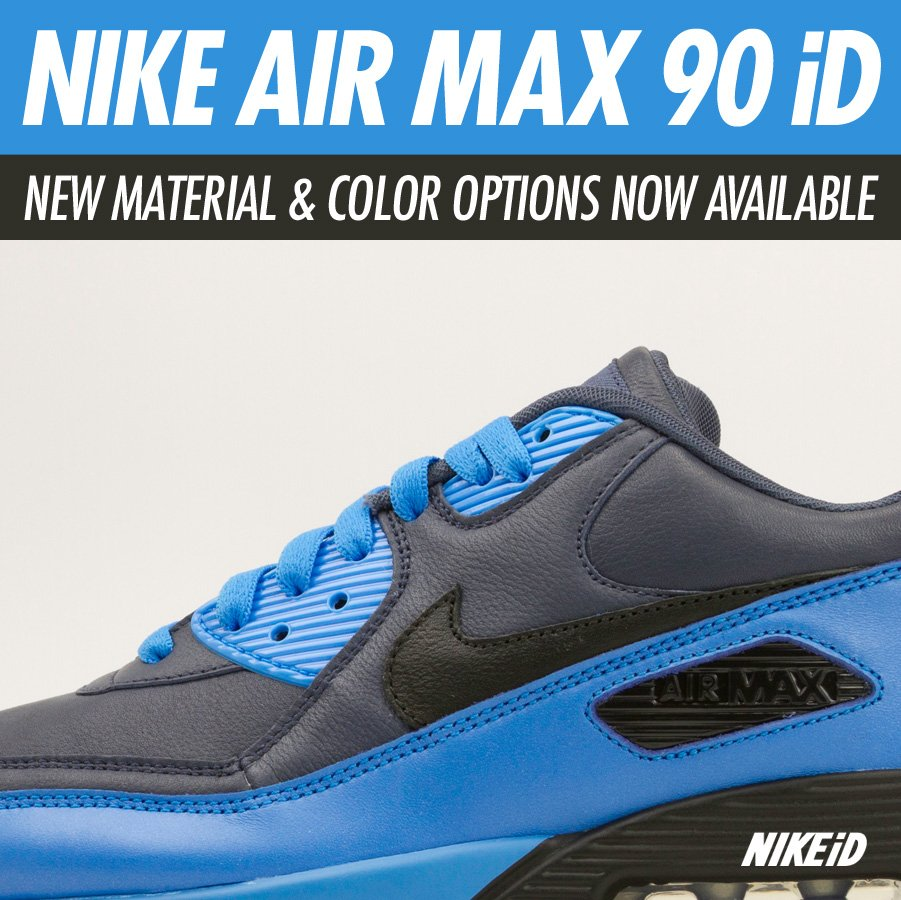 Nike Air Max 90 iD New Material and Color Options