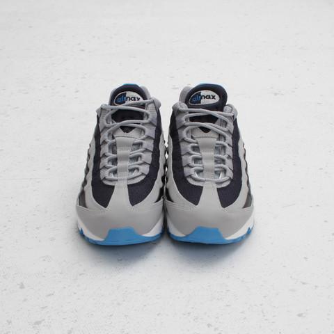 Nike Air Max 95 'Wolf Grey/Blue-Dark Obsidian-White' at Concepts