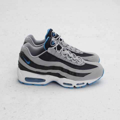 Nike Air Max 95 'Wolf Grey/Blue-Dark Obsidian-White' at Concepts
