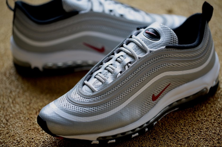 Nike Air Max 97 Hyperfuse Premium 'Metallic Silver/Varsity Red-Black' - Release Date + Info