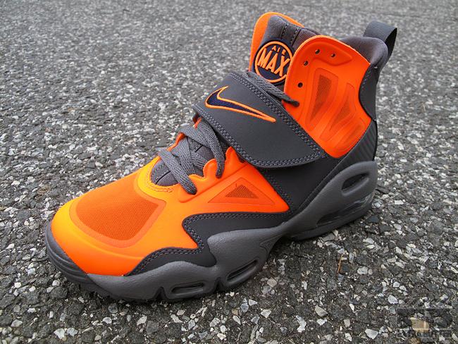 orange and grey nike air max express red