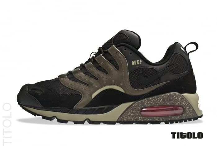 2d2a37928a1c Nike Air Max Humara  Black Black-Silver Sage-Deep Smoke
