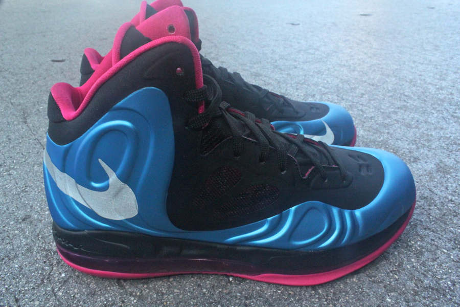Nike Air Max Hyperposite 'Dynamic Blue/Reflective Silver-Fireberry' at Mr. R Sports