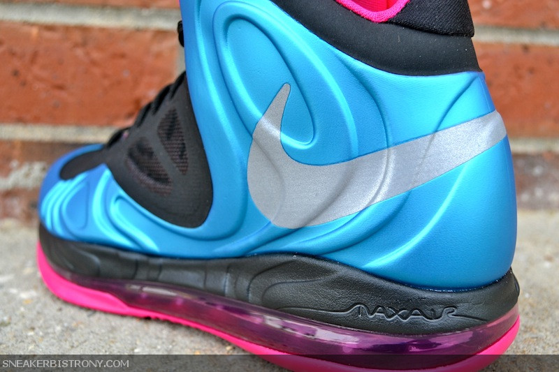 Nike Air Max Hyperposite 'Dynamic Blue/Reflective Silver-Fireberry' at Sneaker Bistro