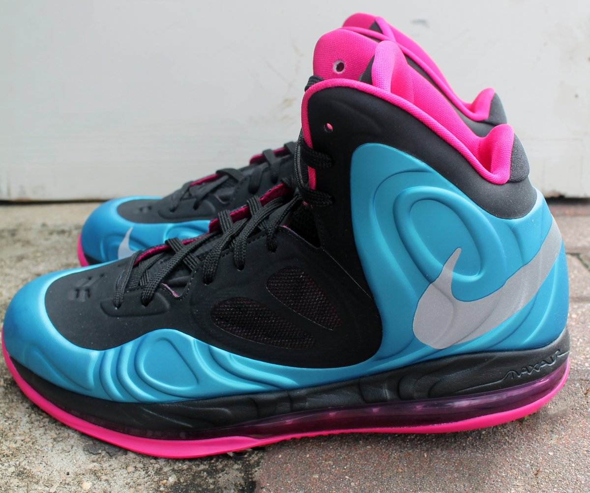 e372daa244e8 Nike Air Max Hyperposite  Dynamic Blue Reflective Silver-Fireberry  at  Social Status