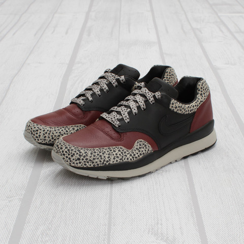 Nike Air Safari PRM NRG GBR 'Black/Black-Dark Team Red' at Concepts