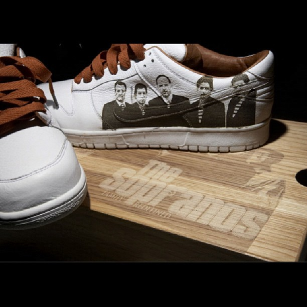 Nike Dunk Low 'The Sopranos' Sample