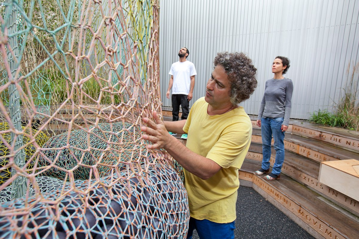 Nike Flyknit Collective - Ernesto Neto at 1948 London