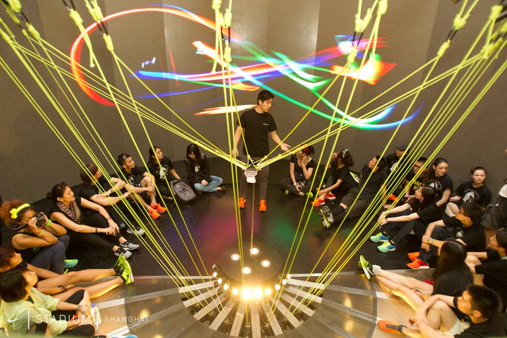 Nike Flyknit Collective Shanghai - Lightness Workshop