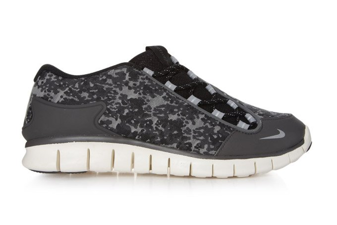 Nike Footscape Free Camo at Crooked Tongues outlet. Donning a Midnight Fog Midnight  Fog-Black-Matte Silver ... f0a40385df7d
