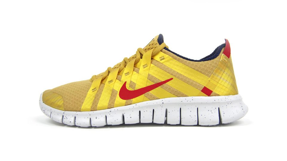 Nike Free Powerlines+ NRG 'Gold Medal' at mita