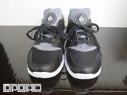 Nike Huarache Free 2012 'Black/Cool Grey-Dark Pine'