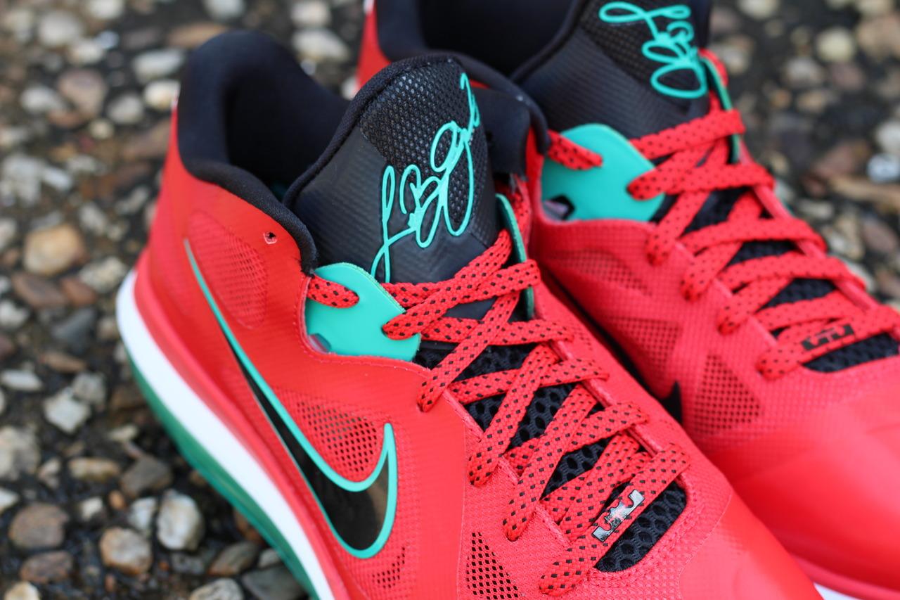 Nike LeBron 9 Low 'Liverpool' at Rock City Kicks