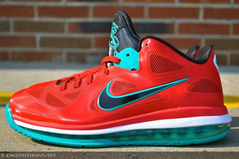 Nike LeBron 9 Low 'Liverpool' at Sneaker Bistro