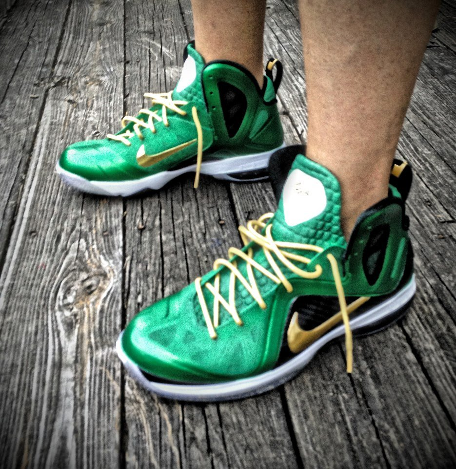 Nike LeBron 9 P.S. Elite 'SVSM' by Mache Custom Kicks