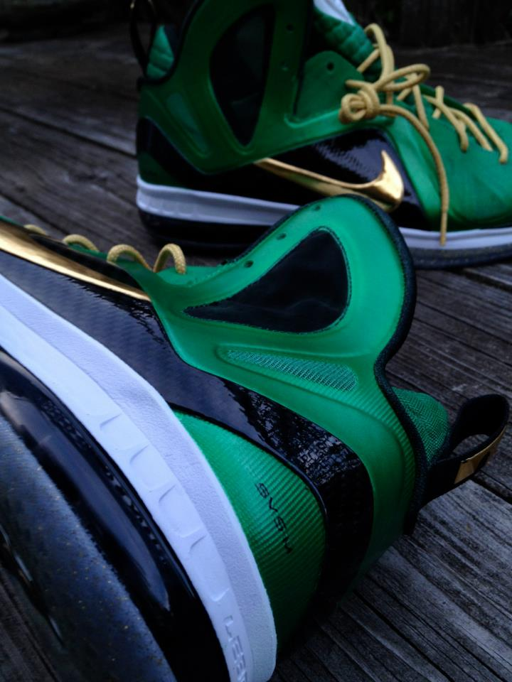 Nike LeBron 9 P.S. Elite 'SVSM' by Mache Custom Kicks