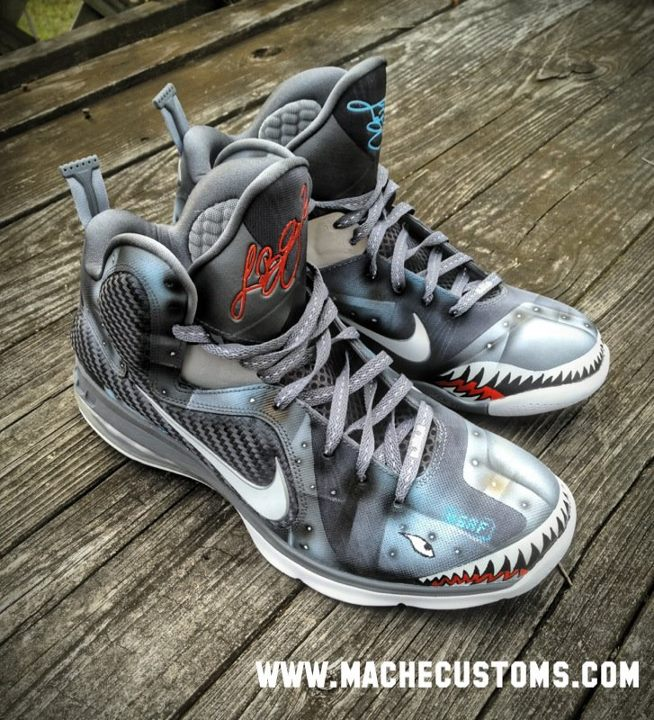 Nike LeBron 9 'Wounded Warrior Project' by Mache Custom Kicks