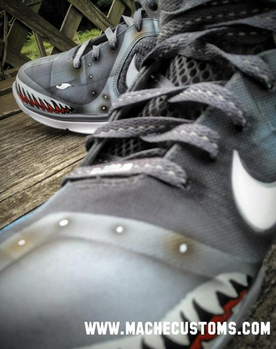 Lowest Price Nike Lebron 9 Wounded Warriors Project Custom