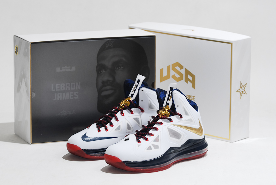 Nike LeBron X+ Sport Pack 'Gold Medal' - 'United We Rise' Packaging + Detailed Look