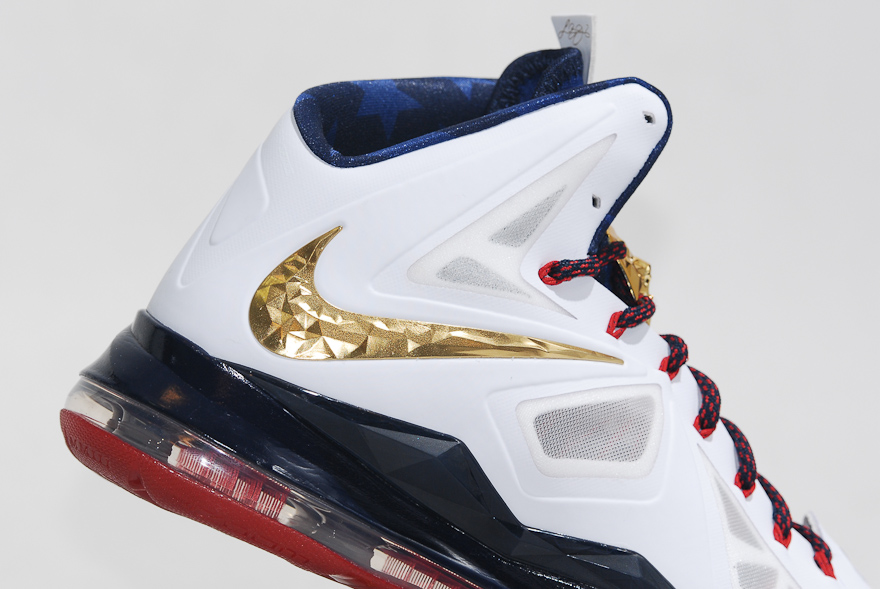 low priced a9dba dbbe7 Nike LeBron X+ Sport Pack  Gold Medal  -  United We Rise  Packaging