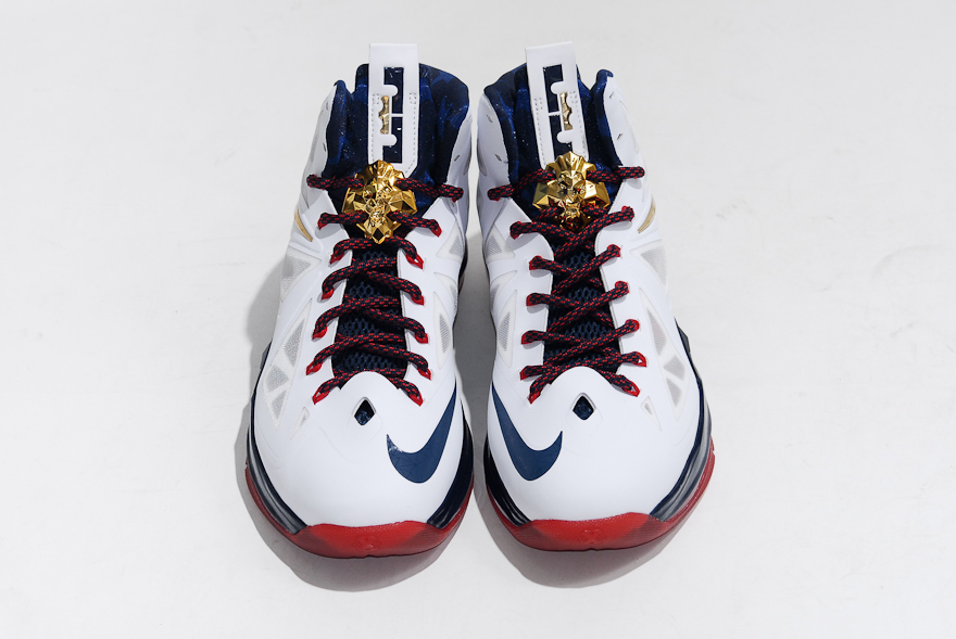 factory price 2edac aa0af ... Nike LeBron X+ Sport Pack Gold Medal - United We Rise Packaging ...