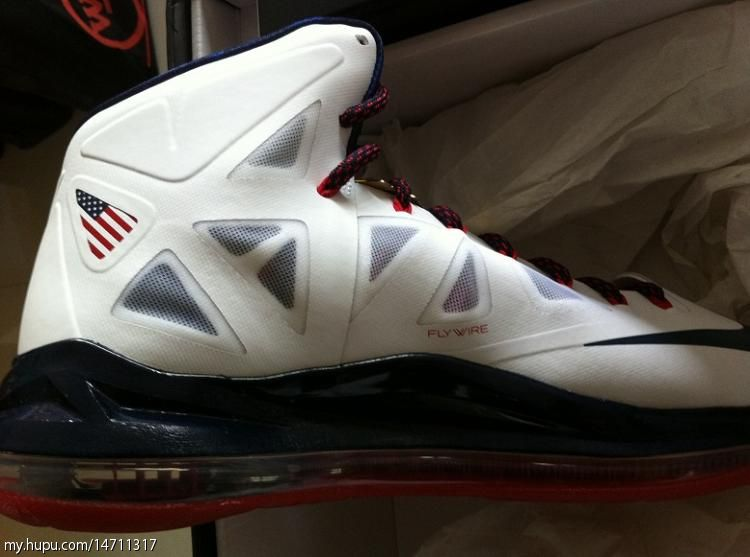 Nike LeBron X+ Sport Pack 'Gold Medal' Hits Retail in China