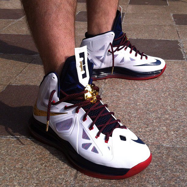 Nike LeBron X 'Gold Medal' - Another Look