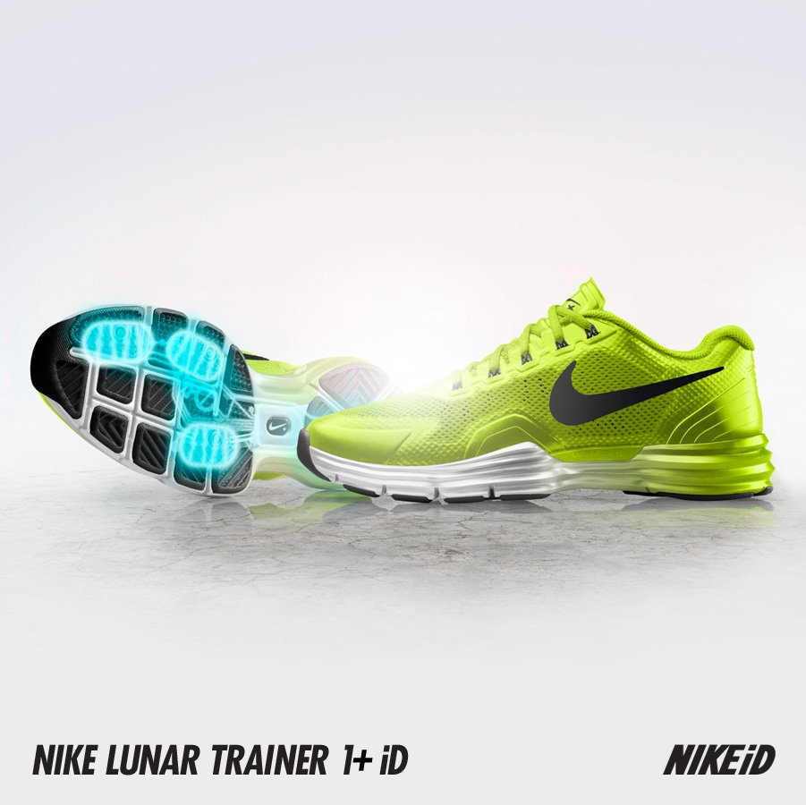 Nike Lunar TR1+ iD - Now Available