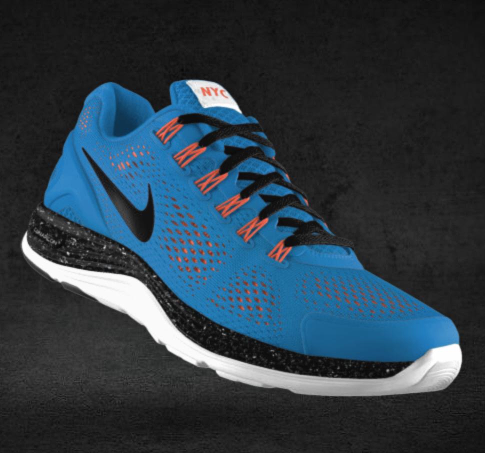 Nike LunarGlide+ 4 iD NYC