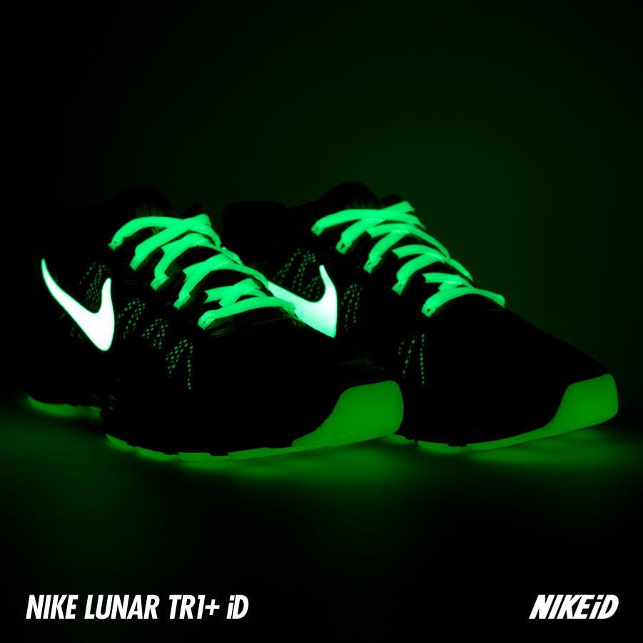 Nike LunarTR1 iD Glow-In-The-Dark Options