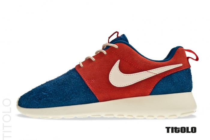 Nike Roshe Run PRM 'Dark Royal Blue/Neutral-Sunburst-Neutral'