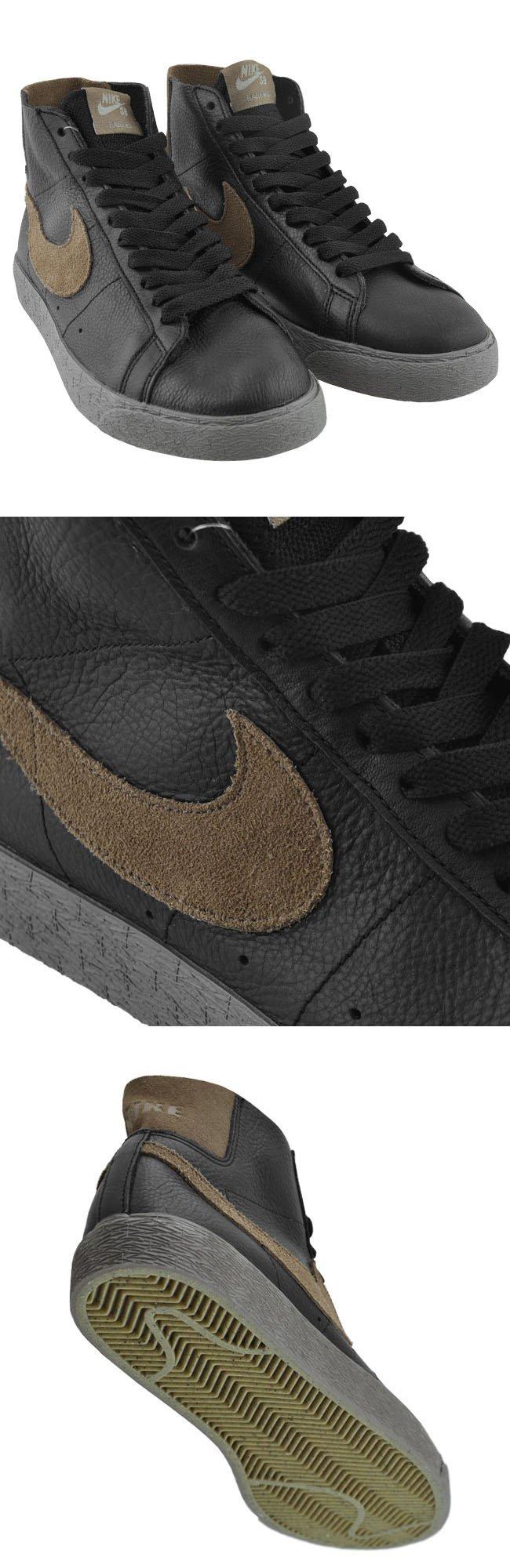 Nike SB Blazer Premium 'Black/Cocoa-Clay'